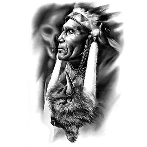 Wzór Tatuażu Indianin Monika Wypożyczalnia Sprzętu